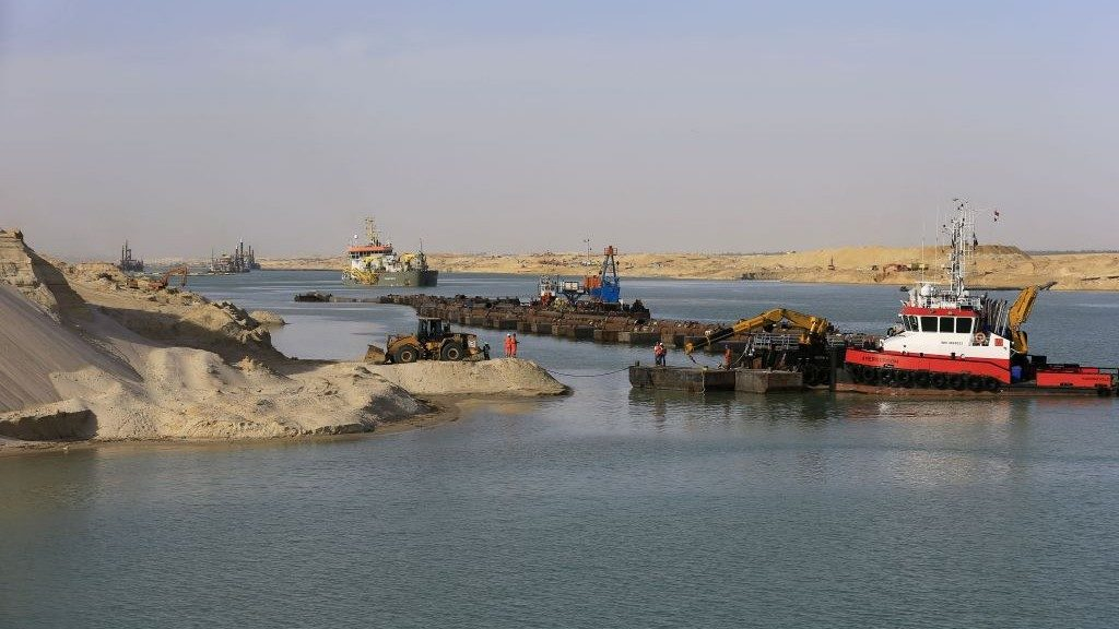 New Suez Canal to Launch