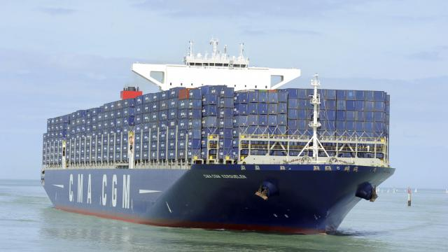 18K TEU French Flag in CMA CGM Service
