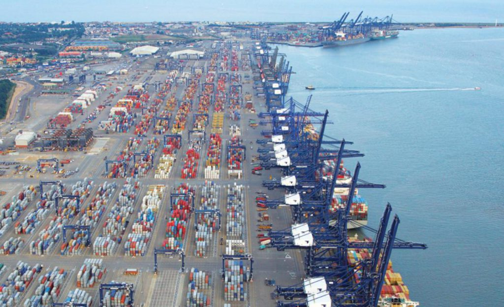 Port of Felixstowe to Add Ship-to-Shore Gantry Cranes