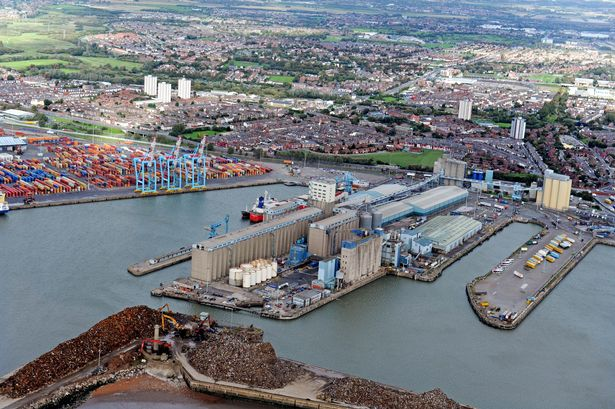 The First Trainload From Liverpool's New Bulk Terminal