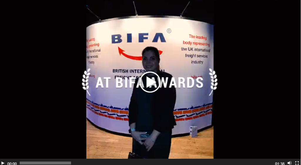 Milky Way Logistics at BIFA Awards